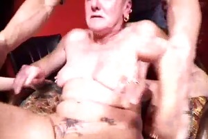 super unattractive pierced french granny fisted