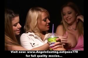 dilettante fantastic blond lesbian babes