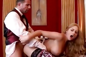 hard anal test drive for one bigtits mature lady
