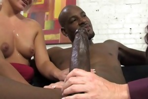 darksome boy breeding old white mamma and wicked
