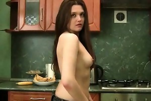awesome corpulent woman seduced and fucked exotic