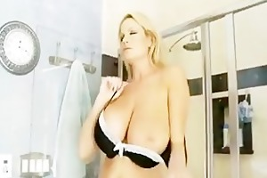 breasty kelly madison having hawt sudsy sex in