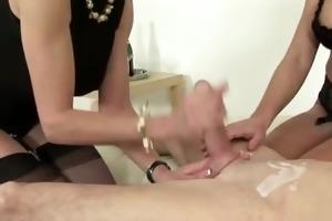 check older femdom sluts jerk off lad