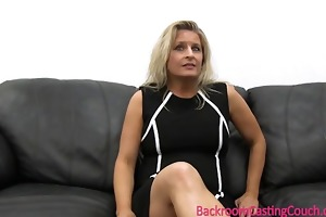 mamma takes creampie for a washer and dryer