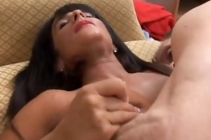 cassidy is a glamorous breasty mature brunette