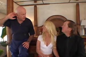 sexy blond wife enjoyed a great sex
