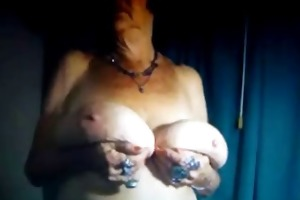 granny with large boobs! amateur!