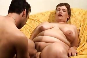 older fatty receives screwed