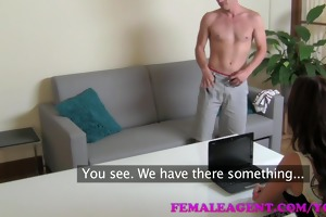 femaleagent hd mother i exploits shy boy in