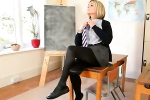 sleek teacher teasing body just for