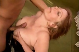 large boobed older titty drilled