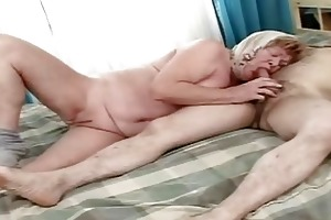 grandfather fuck his old wife until insane big o