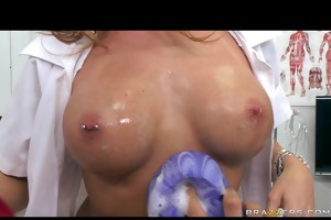 blonde latina big-tit nurse pornstar in stalkings