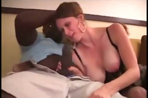 swinger wife receives her st large dark rod -