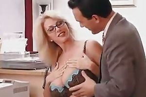 large titted mama with her boss...f70
