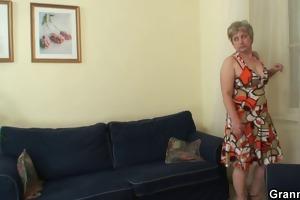 hawt lad bangs lonely granny