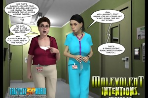 3d comic: malevolent intentions. movie 30