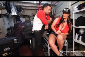 large titted angelina castro bonks & takes
