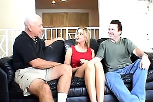 leggy blonde wife gangbanged