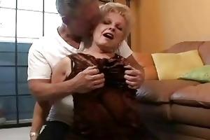 precious concupiscent granny acquires old ramrod