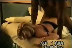 my dark ex hubby eating own cum out of my bawdy