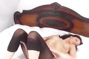 hawt masturbating dark brown french playgirl part2