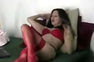 web camera milf plays with herself