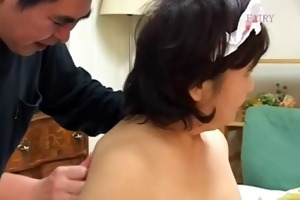 eager japanese granny sex