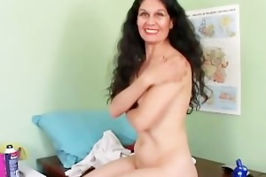 beautiful aged lalin girl acquires her vagina