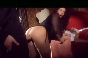 cuckold and his wife with moroccan bull