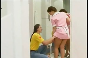 aged maid acquire drilled by youthful fellow