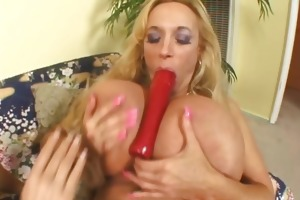 aged lesbian bitch receives drilled with