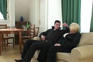 dudes pick up and fuck drunk grandma