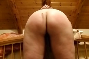 wifes flawless booty receives trio torture
