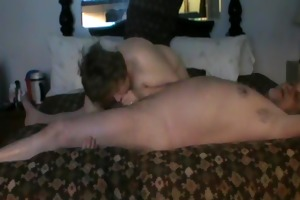 obese older pair fucking on a couch