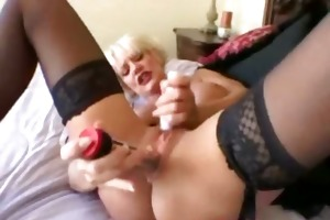 hawt golden-haired older cumshot older d like to