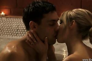 breathtaking erotic oral-service blonde mother i