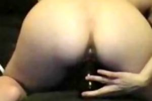watch me fingering and toying cunt and a-hole