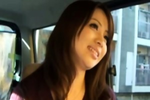 japanse mother i beautie in car jerking chap
