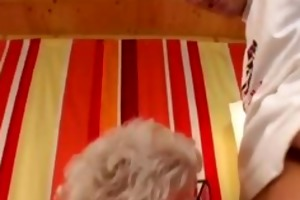 granny receives screwed for real