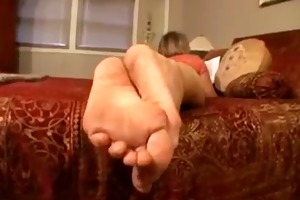 aged ladys hawt soles