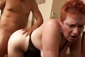 cheating redhead mother i susan screwed bawdy in