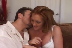 redheaded fire crotch wife bonks new guy