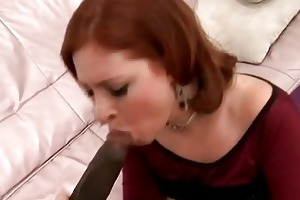 chic redhead mother i sweetheart fucks with hung