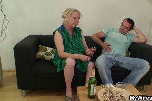 dick hungry mother-in-law seduces him