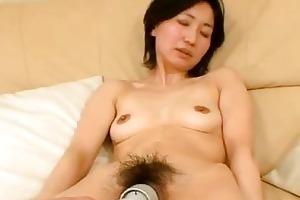 junko konno japanese momma experiencing dual sex