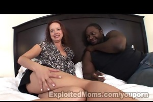mommy takes large dark dick in aged sex episode
