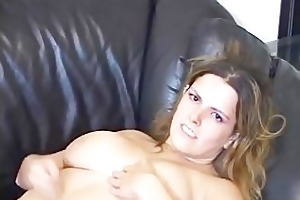 sexy and fascinating large titted jerk off