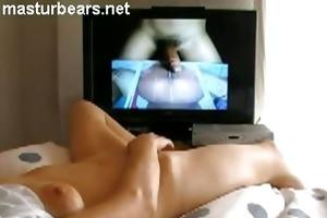 me masturbating whilst watching ejaculating pecker