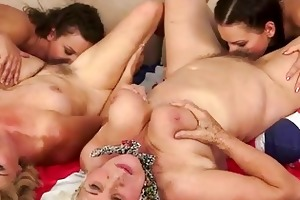 grannies love nubiles compilation